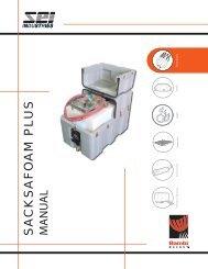 Sacksafoam Plus Manual - SEI Industries Ltd.