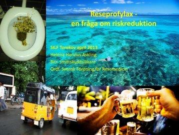 Reseprofylax - en fråga om riskreduktion - Infektion.net