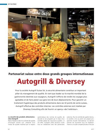 Autogrill & Diversey