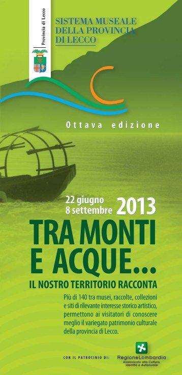 Sfoglia la brochure - Provincia di Lecco