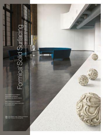 Folleto para Solid Surfacing de Formica® - 2011