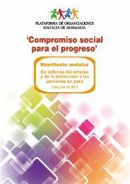 Manifiesto en defensa del empleo y de la protección a la personas ...