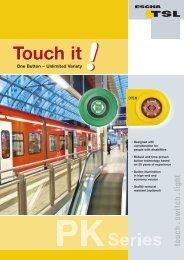 Flyer PK-Series [.PDF-Datei] - Logo ESCHA TSL GmbH