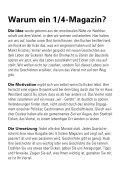 HEFT 01: Warum ein Heft? // TiG // Wochenmarkt // Café Paula ... - Seite 2