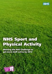 NHS Sport and Physical Activity - Walk4Life