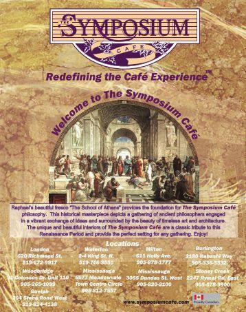Cakes - Symposium Cafe