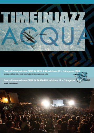 Il Tabloid del festival Time in Jazz 2009