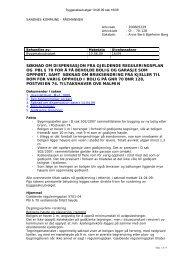 16/09 200605229 søknad om dispensasjon fra gjeldende ...