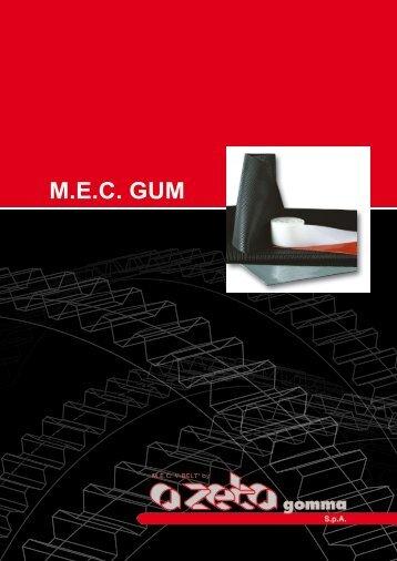 M.E.C. GUM - A ZETA Gomma