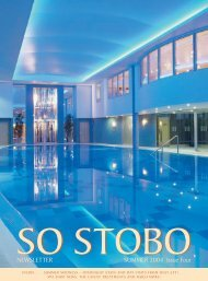 Stobo Newsletter Summer 04.indd - Stobo Castle Health Spa