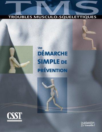 Télécharger le PDF (735 ko )Troubles musculo-squelettiques - CSST
