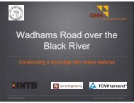 Wadhams Road over the Black River