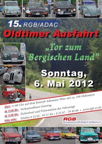 """""""Tor zum Bergischen Land"""" Oldtimer Ausfahrt - Rgb-ev.de"""