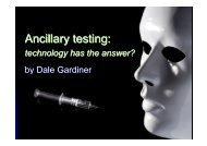 Dale Gardiner Ancillary Testing - Organ Donation