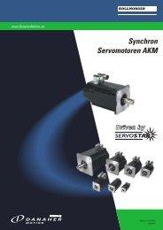 Synchron Servomotoren AKM - BIBUS SK, sro