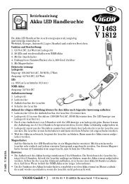 V1463 - Vigor Equipment