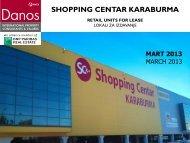 retail units for lease lokali za izdavanje - DANOS