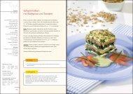 Vollwert-Dalken mit Blattspinat und Tomaten