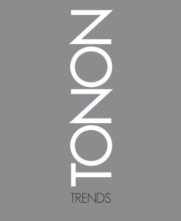 Tonon Trends 2013 Scarica il catalogo in PDF