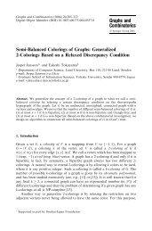 Semi-Balanced Colorings of Graphs: Generalized 2-Colorings ...