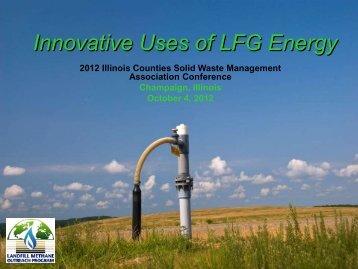 LFG Uses L Edwards.pdf - Illinois Counties Solid Waste ...