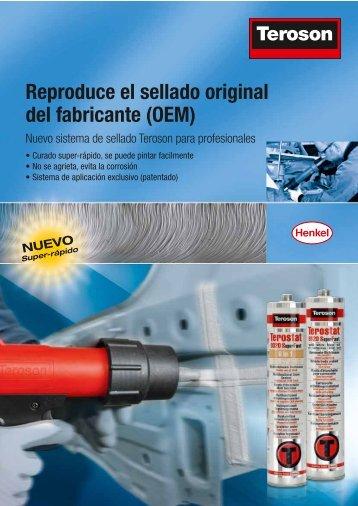 Reproduce el sellado original del fabricante (OEM) - El Chapista