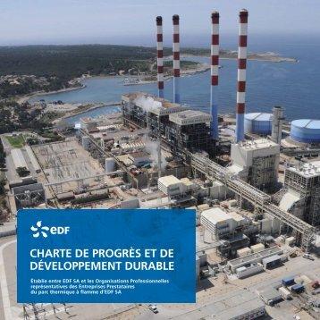 charte de progrès et de développement durable - SNED