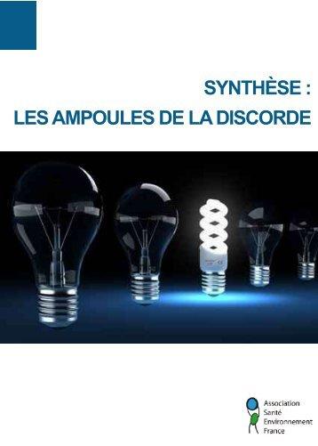 Syntheseampoulesfev2013.pdf - Association Santé Environnement ...