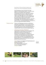 Rahmenprogramm in der Traube Tonbach - Über Hotelwebservice