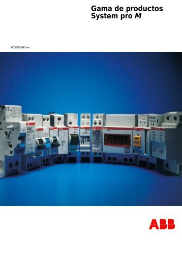 Gama de productos System pro M - Contact ABB