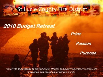 Introduction - St. Lucie County Fire District