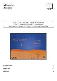 Les mots voyageurs - Institut du Monde Arabe