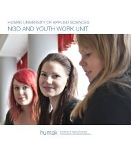 NGO AND YOUTH WORK UNIT