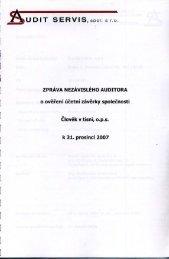 Audit 2007 - Člověk v tísni