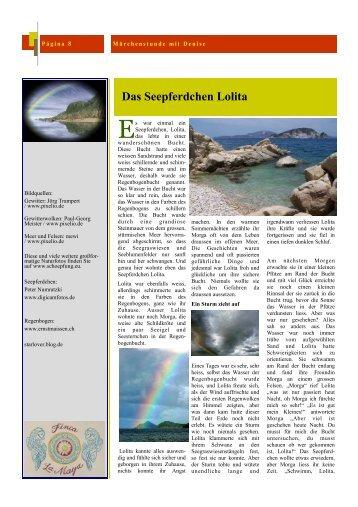 Das Seepferdchen Lolita - Finca La Maya