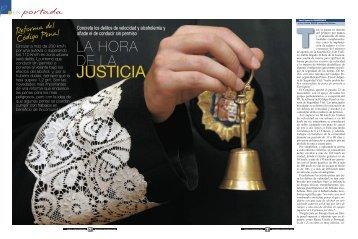 JUSTICIA - Dirección General de Tráfico