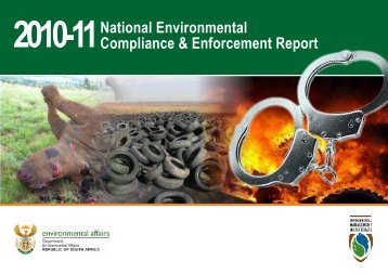 National Environmental Compliance & Enforcement Report 2010-11 ...