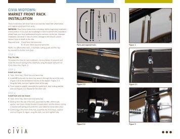 Civia MiDTOWN: MarkeT FrONT raCk iNSTaLLaTiON - Civia Cycles