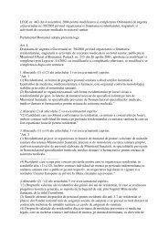 Legea nr. 463 - Spital Moinesti