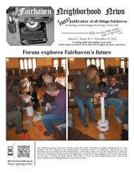 Flag Raising - Fairhaven Neighborhood News