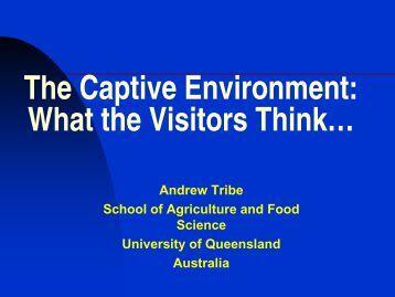 Presentation - Animal Welfare Science Centre