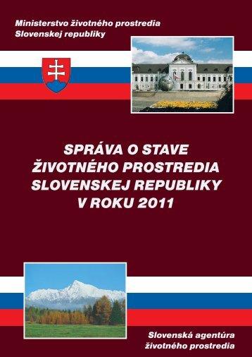 2011 Environmentálna regionalizácia