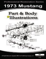 DEMO- 1973 Mustang Part & Body Illustrations - ForelPublishing.com