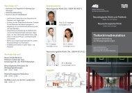 Informationsbrochüre Tiefenhirnstimulation - NeuroKopfZentrum - TUM