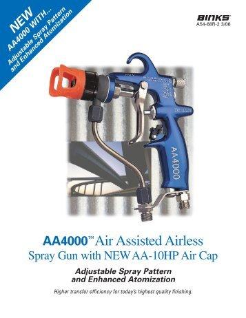 AA4000™ Air Assisted Airless Spray Gun - AE Industrial