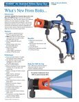 AA4000™ Air Assisted Airless Spray Gun - AE Industrial - Page 2