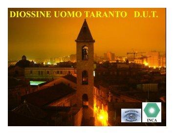 DIOSSINE UOMO TARANTO D.U.T.