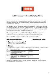 Maßnahmen mit Qualifizierungsbausteinen (IHK) - BIB Augsburg ...