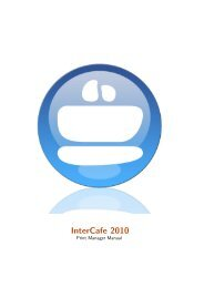 Intercafe 2010 - Internet Cafe Software / Cyber Cafe Software ...
