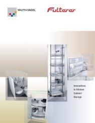 Innovations in Kitchen Cabinet Storage